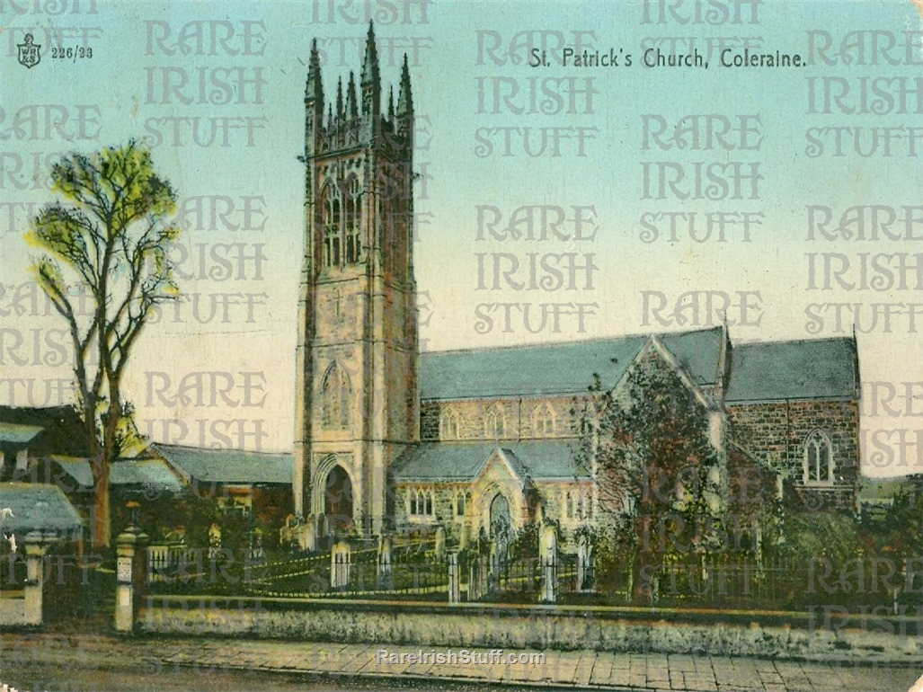 1895 St  Patrick s  Church   Coleraine   Co.  Derry   Ireland  Thumbnail0