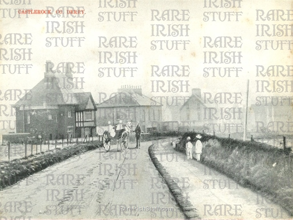 1900  Village view   Castlerock   Derry   Ireland  Thumbnail0