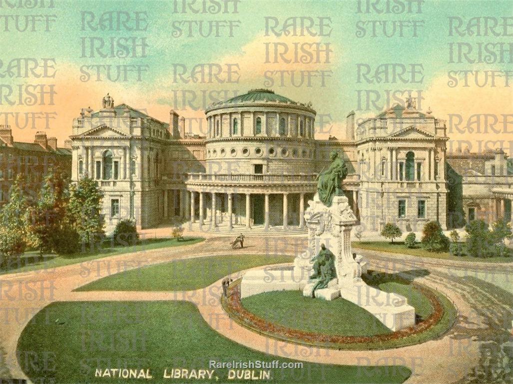 1905 National  Library   Kildare  St   Dublin   Ireland copy  Thumbnail0