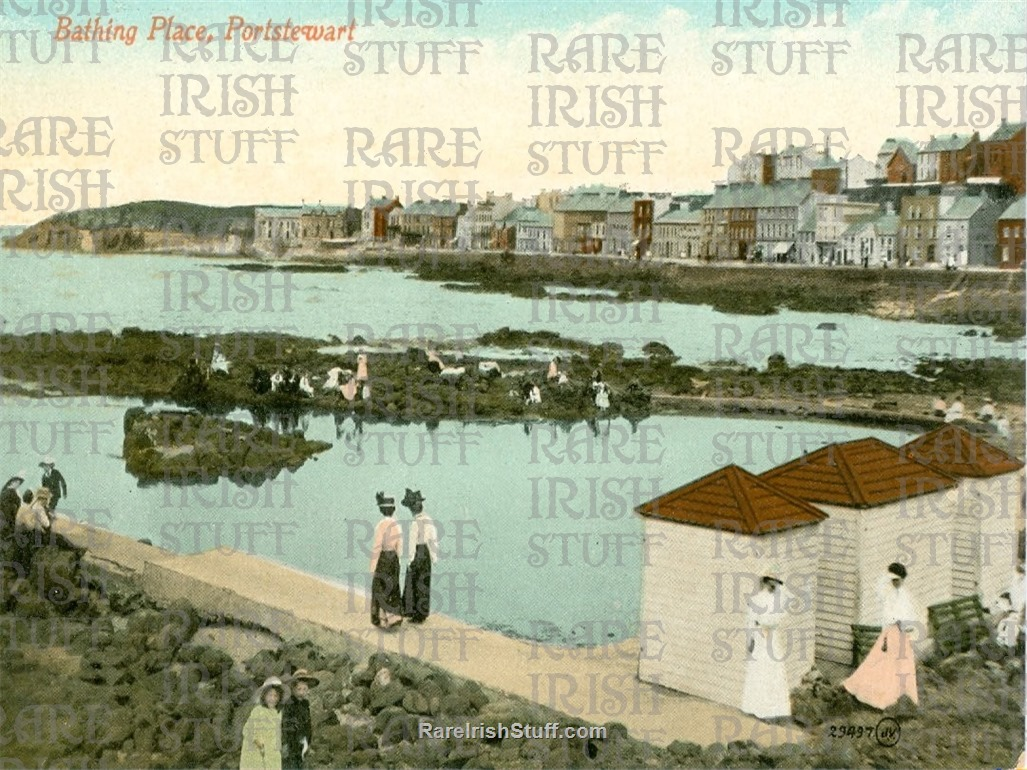 1905  Bathing  Place   Portstewart   Derry   Ireland  Thumbnail0