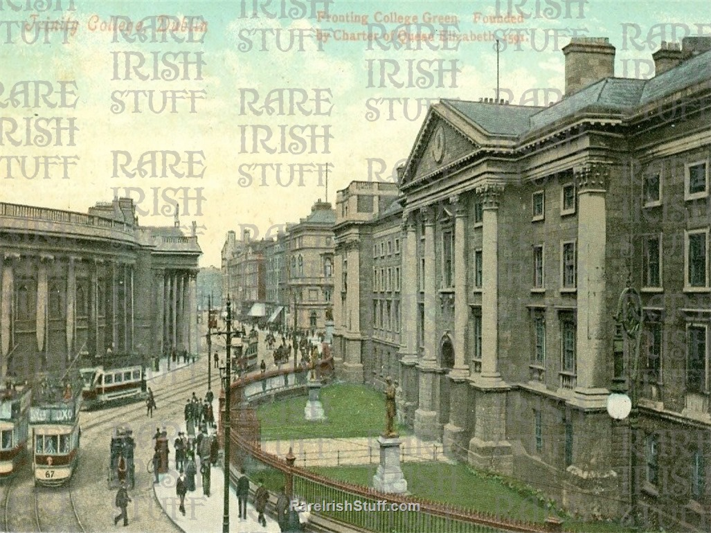 1905  Trinity  College   Dublin   Ireland copy  Thumbnail0