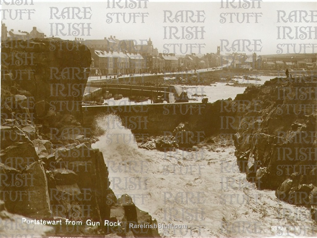 1910  Gun  Rock   Portstewart   Derry   Ireland  Thumbnail0