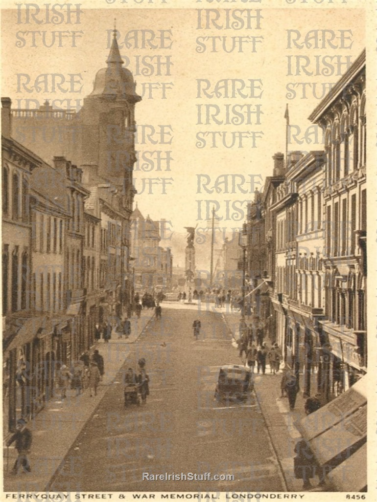 1930 s  Ferryquay  Street   Derry  City   Co.  Derry   Ireland  Thumbnail0