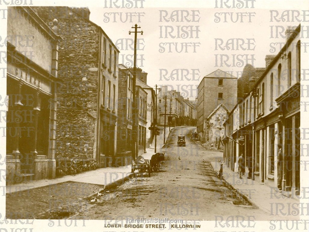 1930 s  Great old picture of  Lower  Bridge  St   Killorglin   Co.  Kerry   Ireland   Thumbnail0