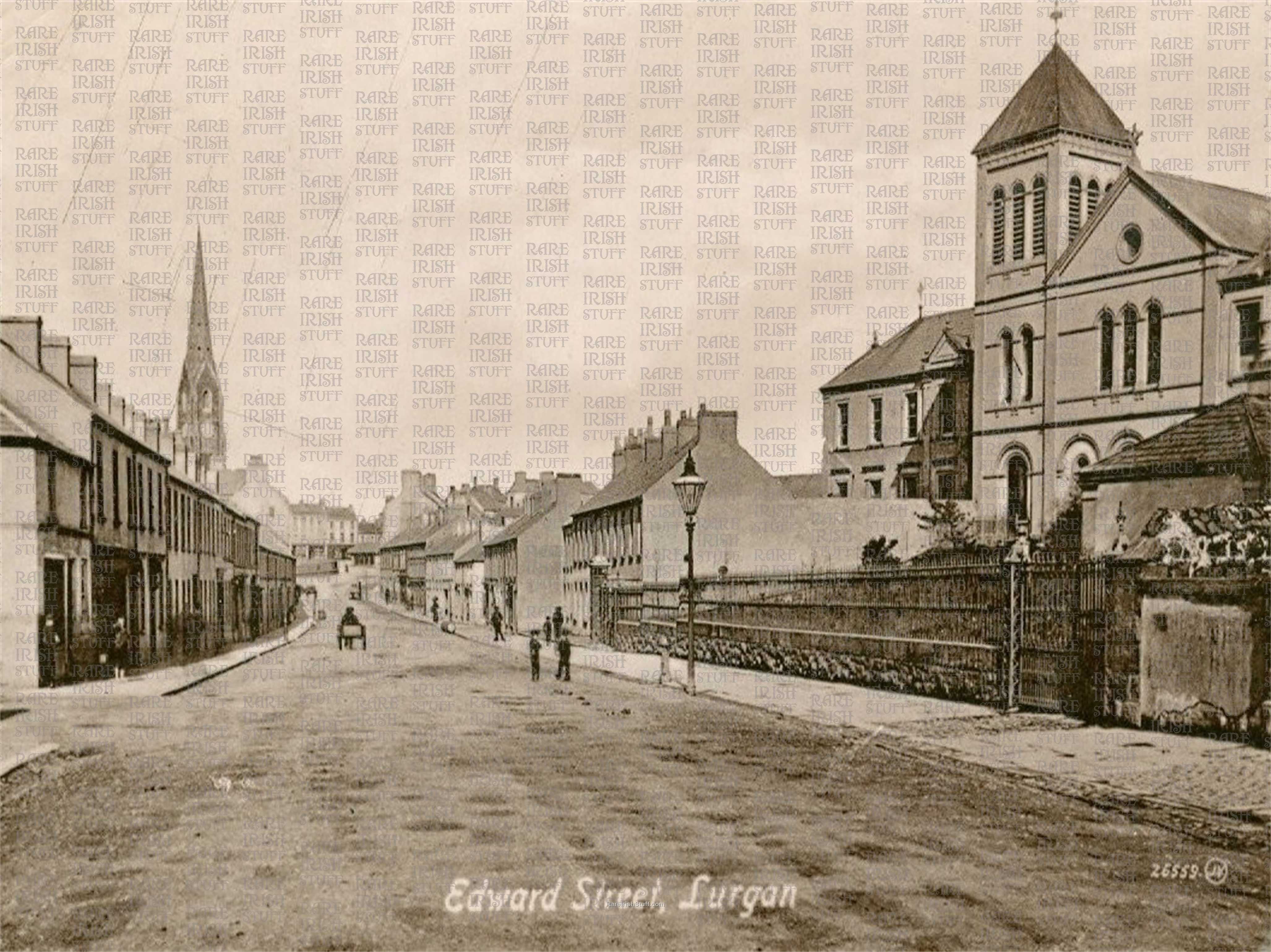 1  Armagh  Lurgan  Edward  St old  Irish  Photo  Thumbnail0