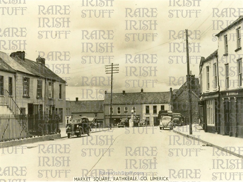 1  Market  Square   Rathkeale   Co.  Limerick   Ireland 1950  Thumbnail0