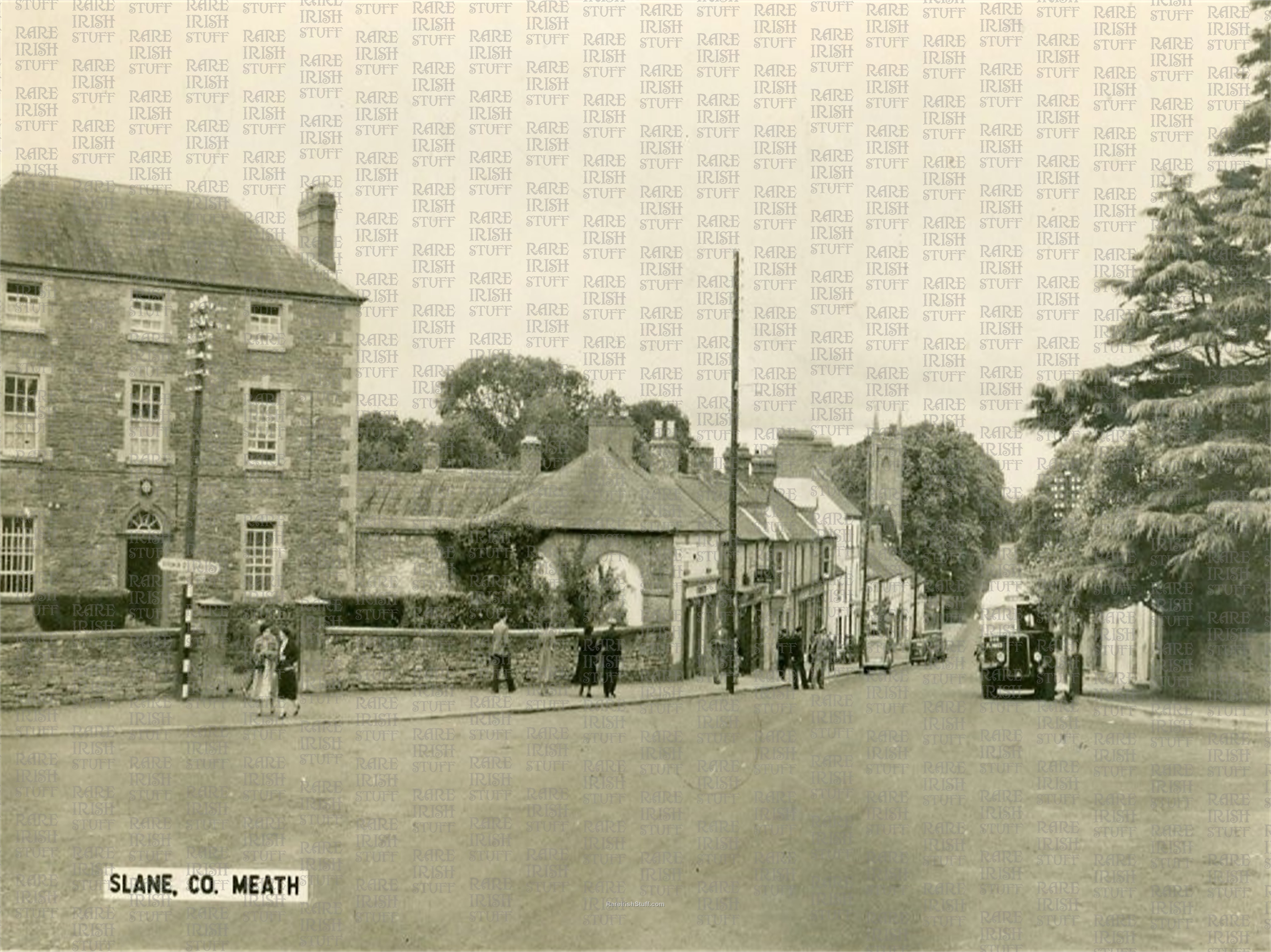 1  Slane  Village   Co.  Meath   Ireland 1950s  Thumbnail0