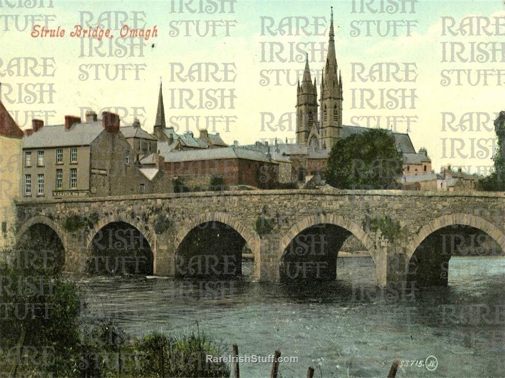 1  Strule  Bridge   Omagh   Co.  Tyrone1900  Thumbnail0