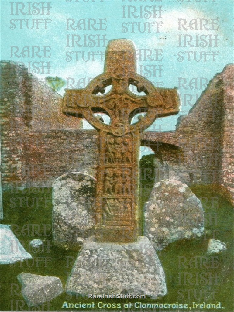 2  Ancient  Cross   Clonmacnoise   Co.  Offaly   Ireland 1895  Thumbnail0