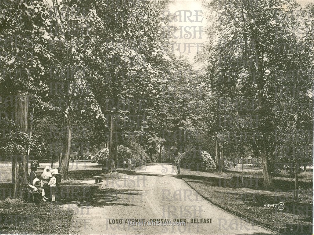 Antrim  Belfast  Ormeau  Park old b w  Irish  Photo  Thumbnail0