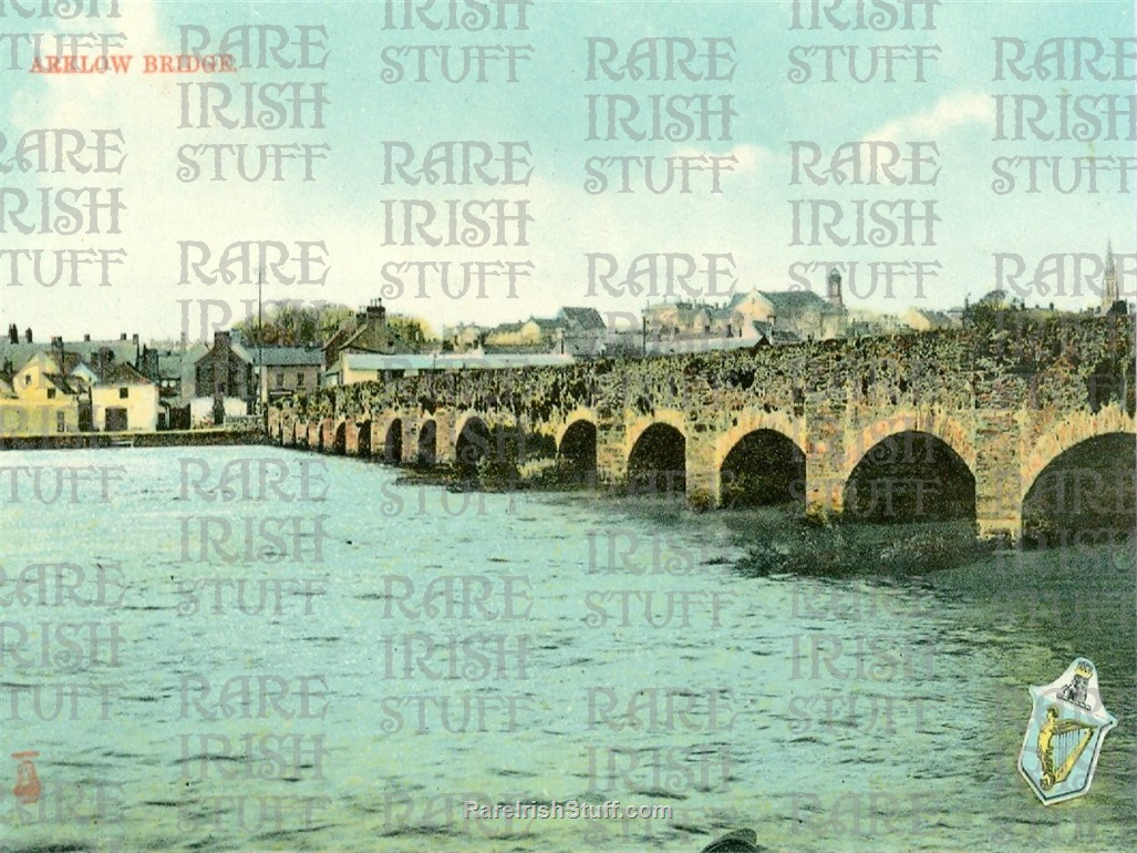 Arklow  Bridge   River  Avoda   Arklow   Co  Wicklow 1950s  Thumbnail0