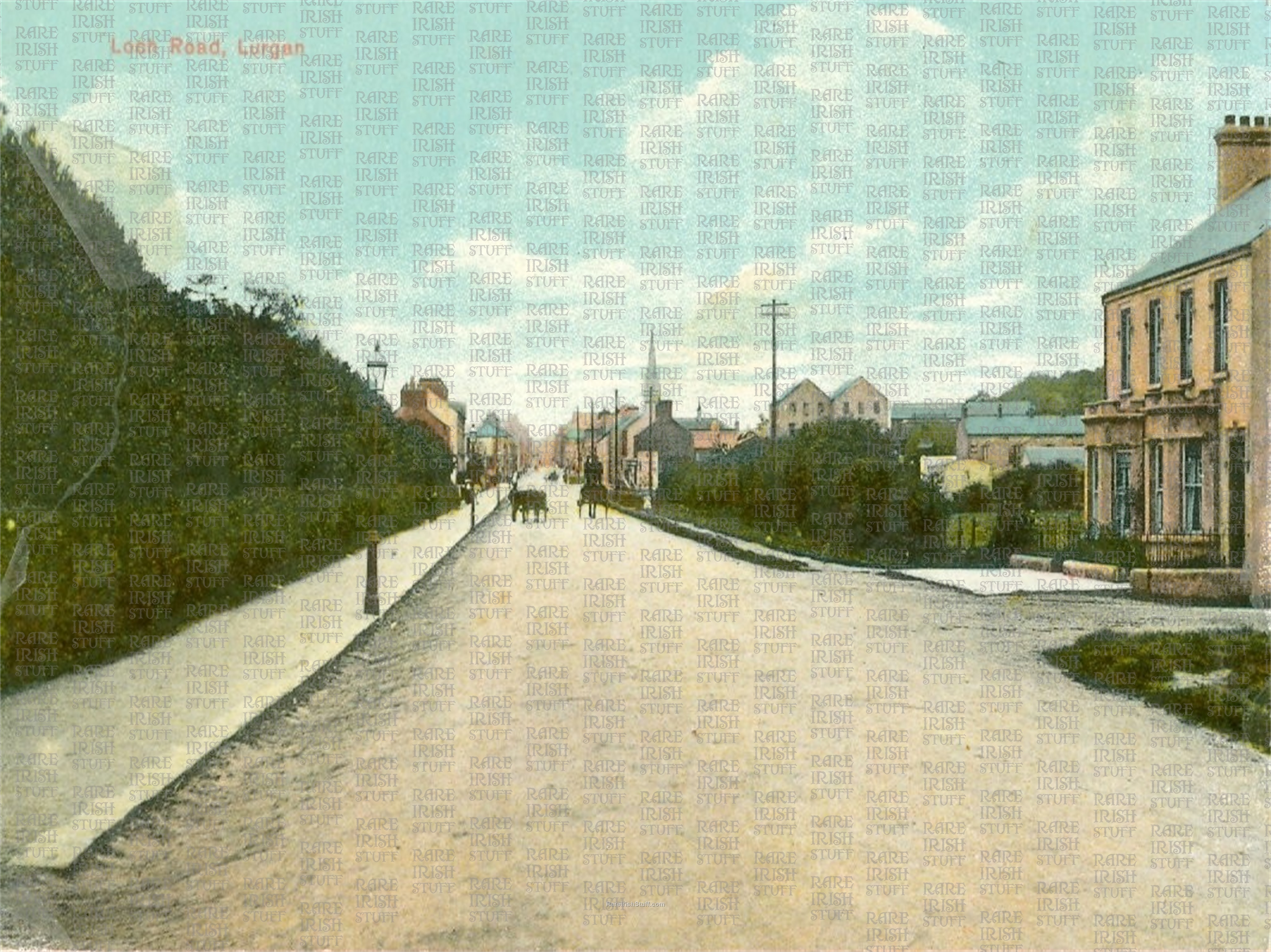 Armagh  Lurgan  Loch  Road old  Irish  Photo  Thumbnail0