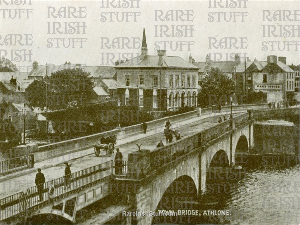 Athlone  Town  Bridge   Co.  Westmeath   Ireland 1900  Thumbnail0