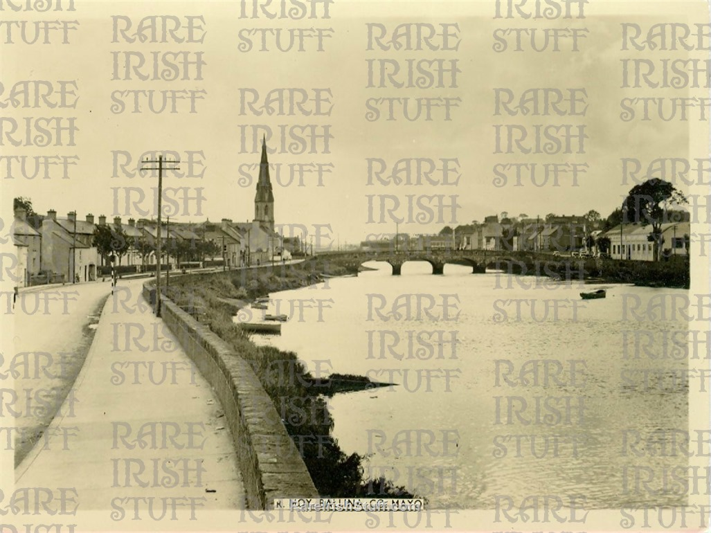 Ballina    River  Moy   Co.  Mayo   Ireland 1950  Thumbnail0