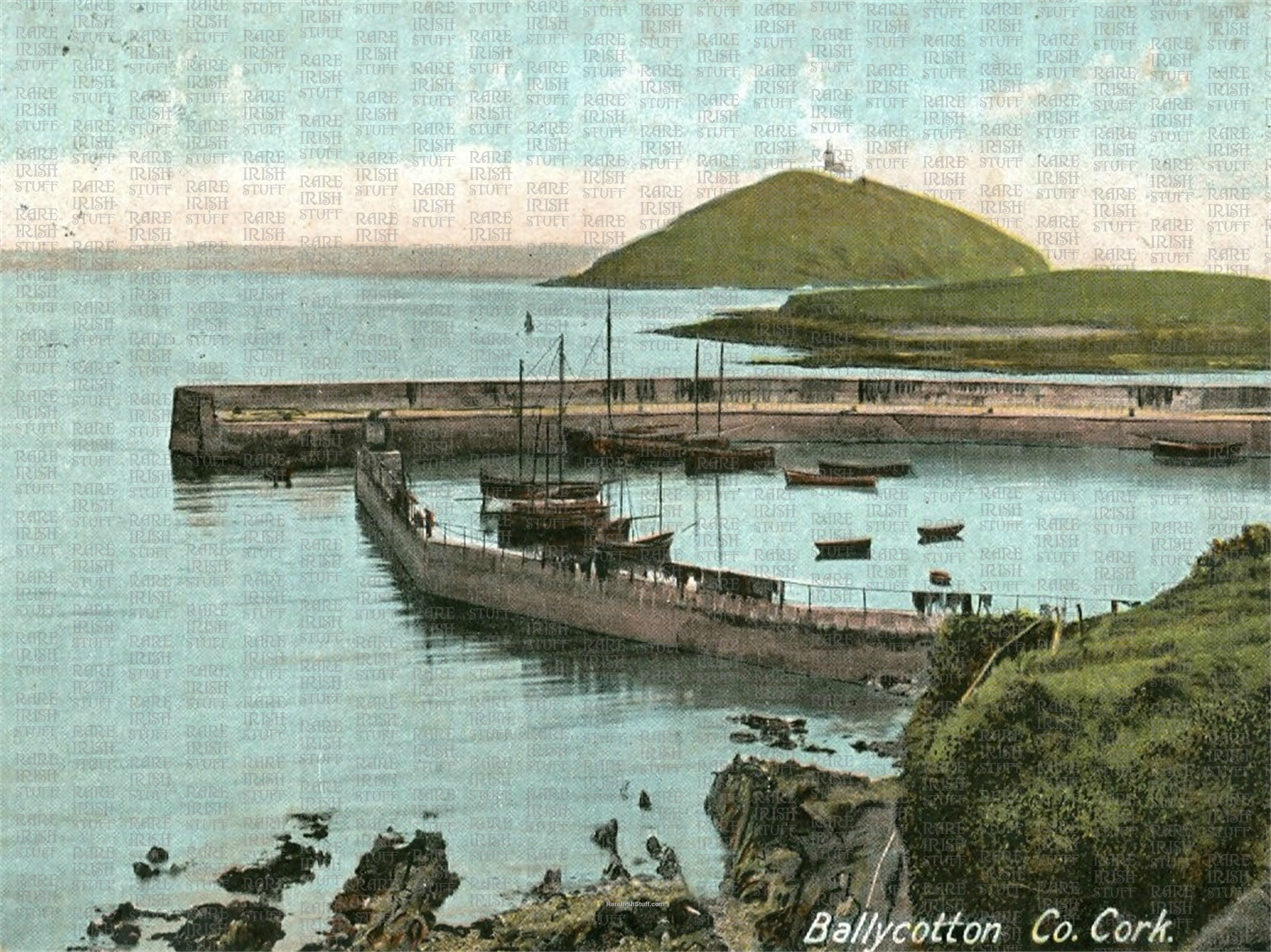 Ballycotten  Harbour   Co  Cork   Ireland 1895  Thumbnail0