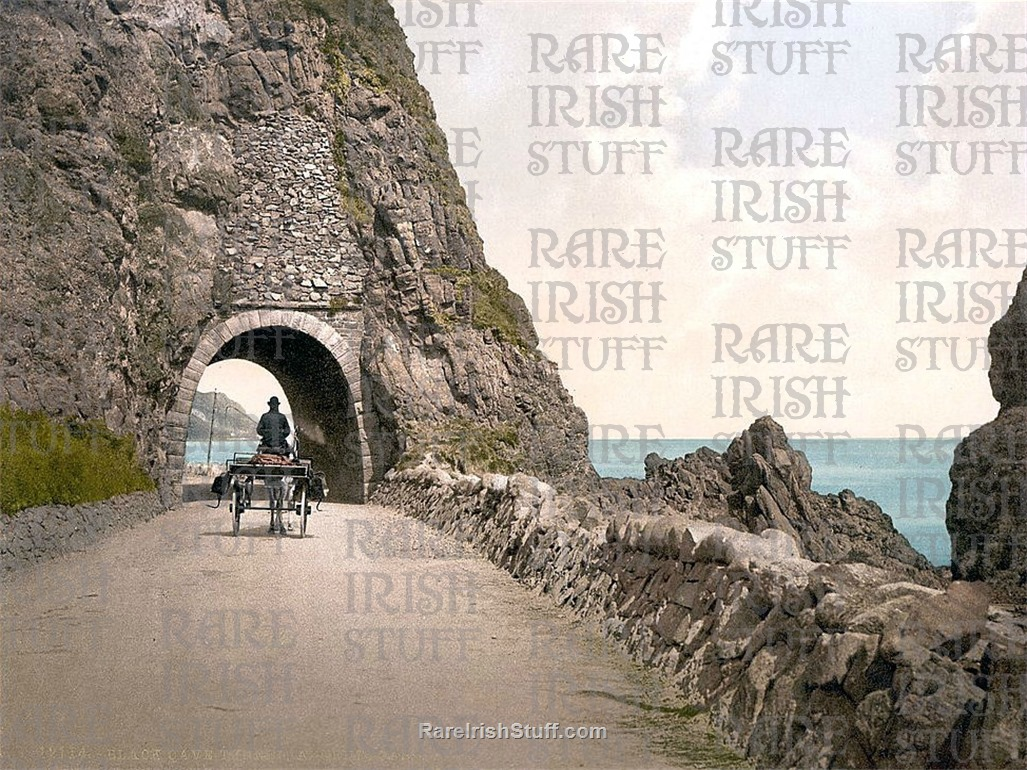 Black  Cave  Tunnel   Co.  Antrim1895 to 1910  Thumbnail0