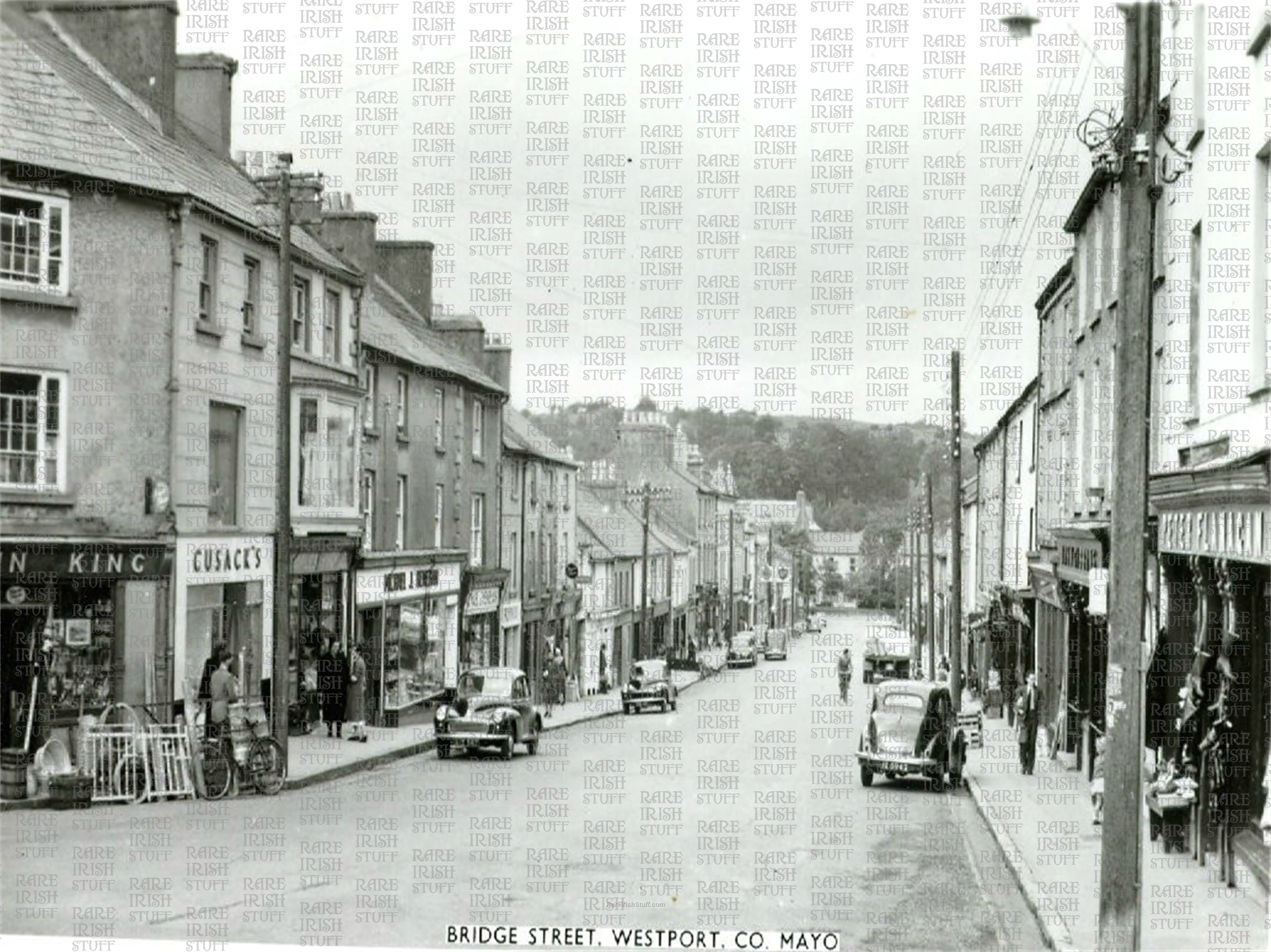 Bridge  St   Westport   Co  Mayo   Ireland 1950s  Thumbnail0