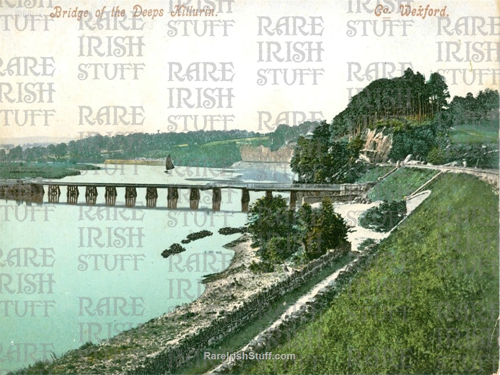 Bridge of the  Deeps   Killurin   Co.  Wexford   Ireland 1910  Thumbnail0