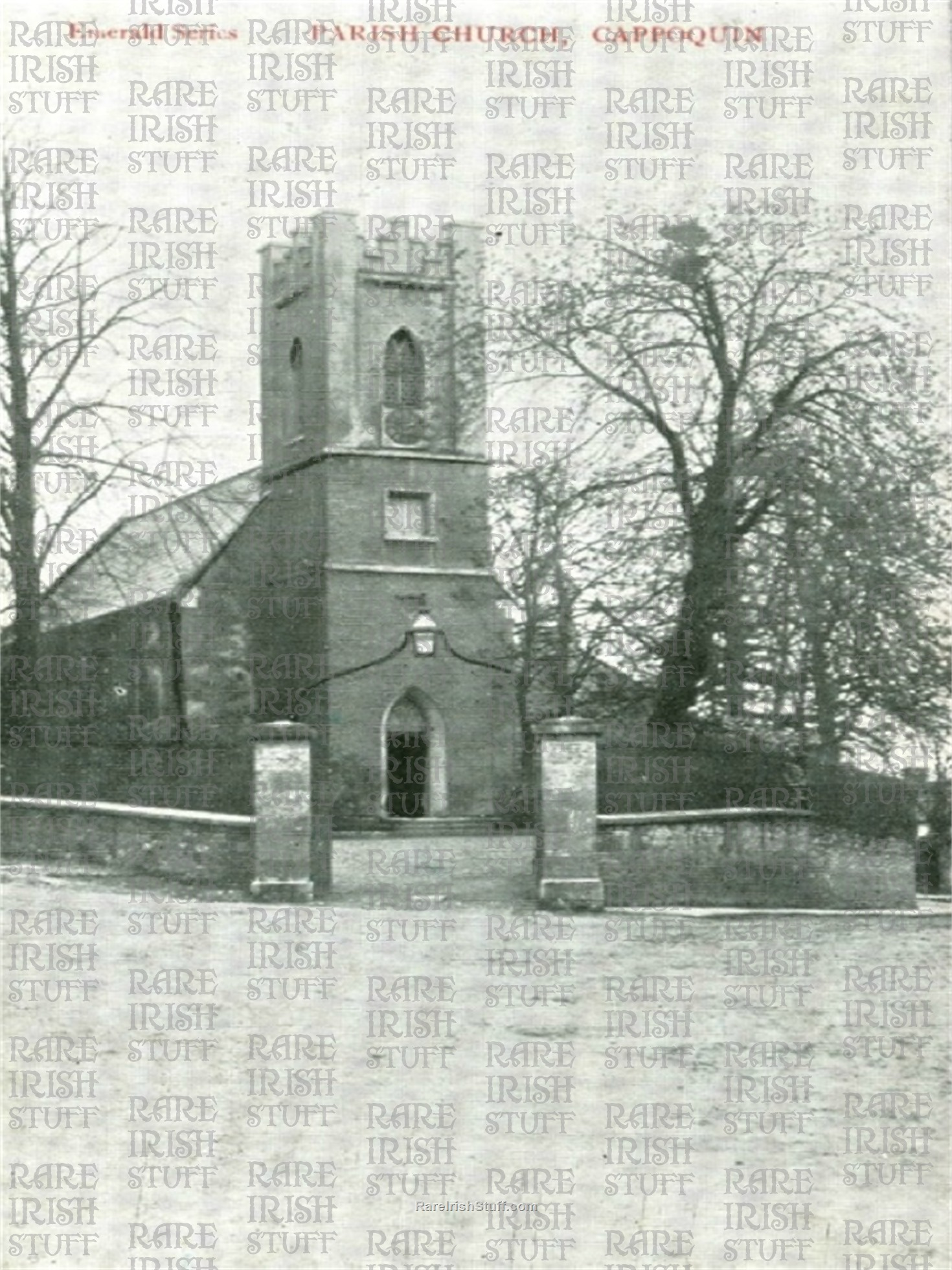 Cappoquin  Parish  Church   Waterford   Ireland 1900  Thumbnail0