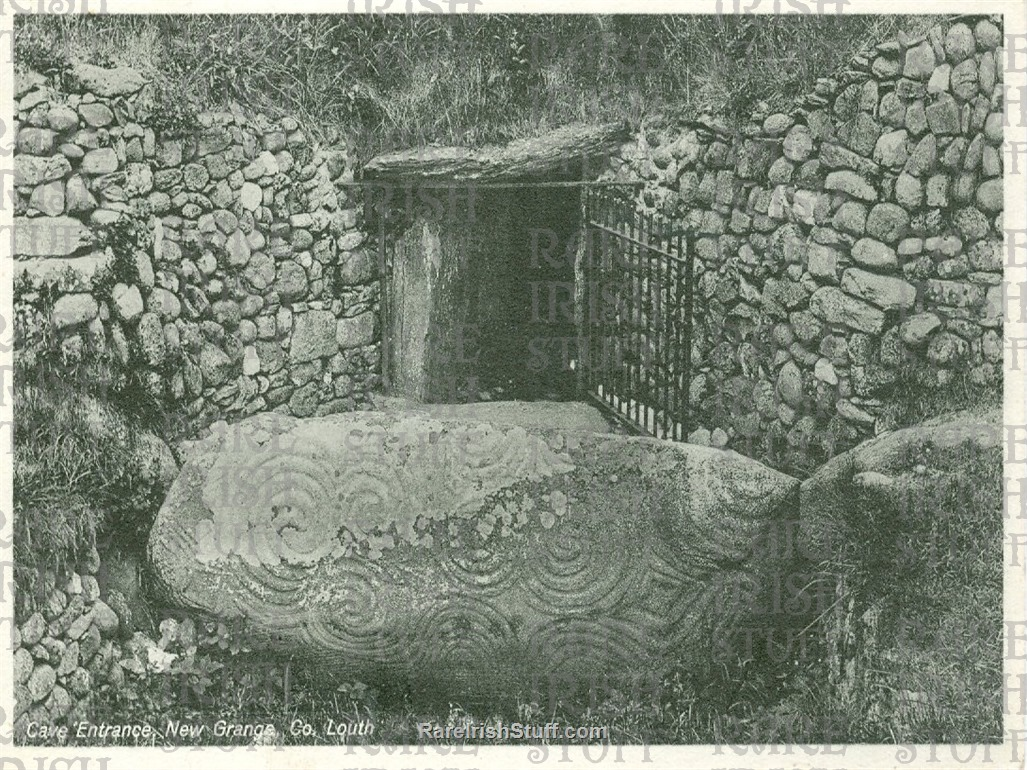 Cave  Entrance   Newgrange   Co.  Louth   Ireland 1895  Thumbnail0