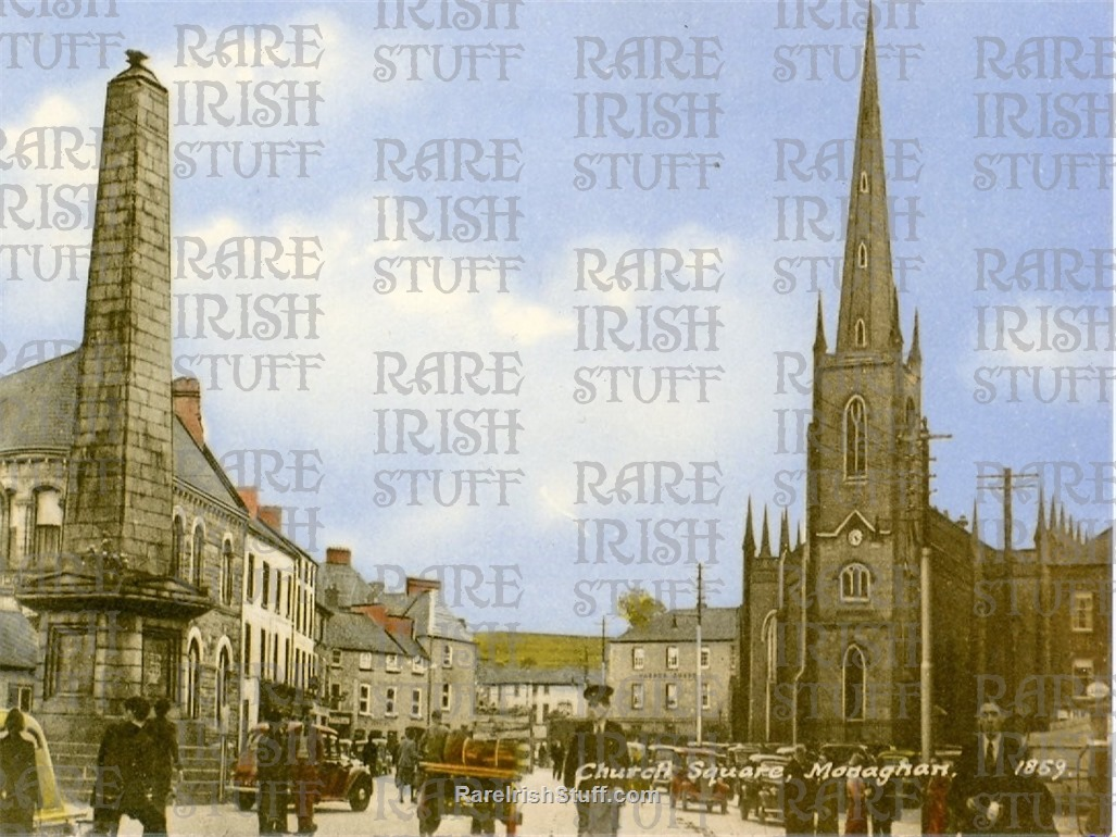 Church  Square   Monaghan  Town   Co.  Monaghan   Ireland 1900  Thumbnail0