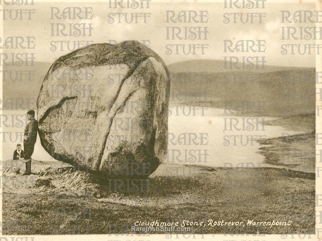 Cloughmore  Stone   Rostrevor   Warrenpoint   Co  Down1905  Thumbnail0
