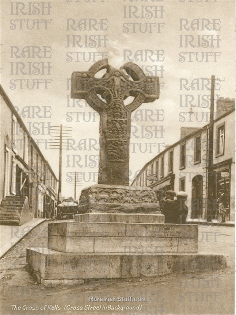 Cross of  Kells   Cross  St   Kells   Co.  Meath   Ireland 1910  Thumbnail0