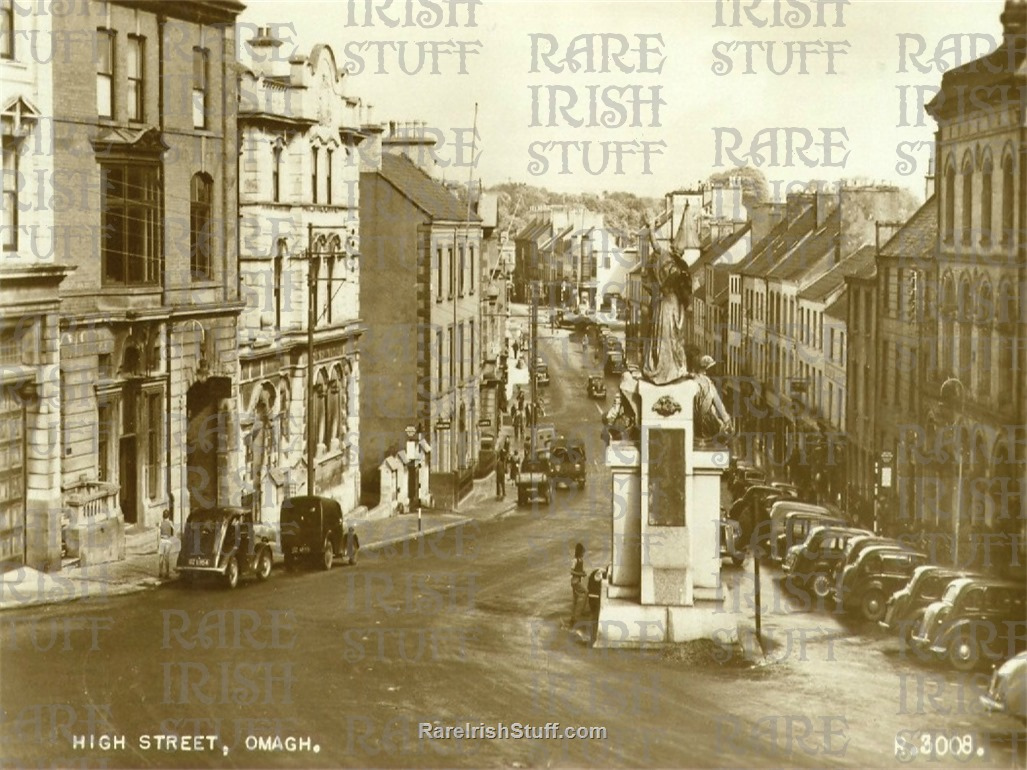 High  St   Omagh   Co  Tyrone    1950  Thumbnail0
