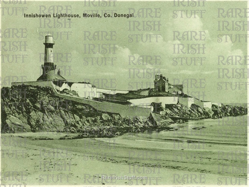 Inishowen  Lighthouse   Inishowen   Moville   Co  Donegal1950  Thumbnail0