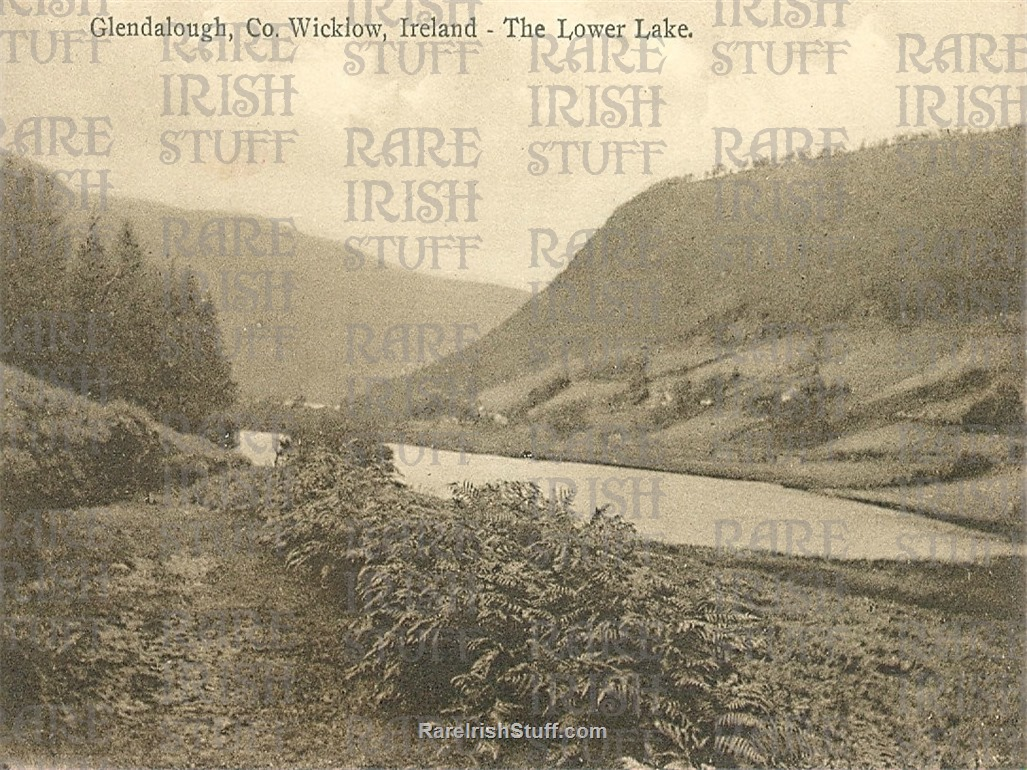 Lower  Lake   Glendalough   Co.  Wicklow1905  Thumbnail0