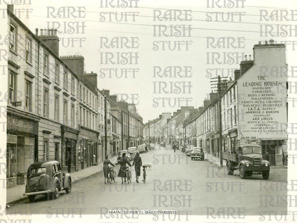 Main  St   Ballinrobe   Co.  Mayo   Ireland 1950s  Thumbnail0