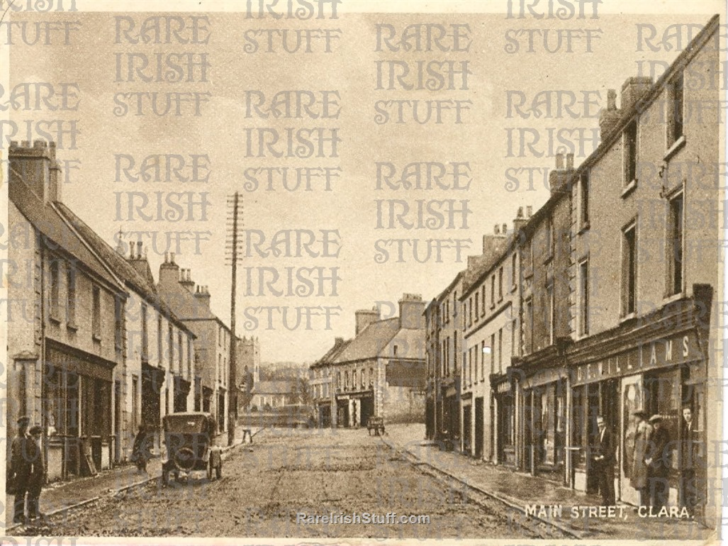 Main  St   Clara   Co  Offaly   Ireland 1905 to 1910  Thumbnail0