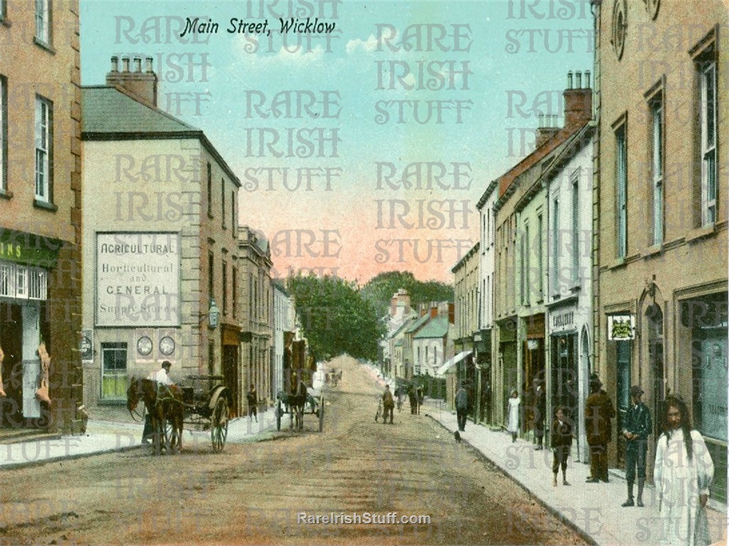 Main  St   Wicklow  Town   Co.  Wicklow1895  Thumbnail0