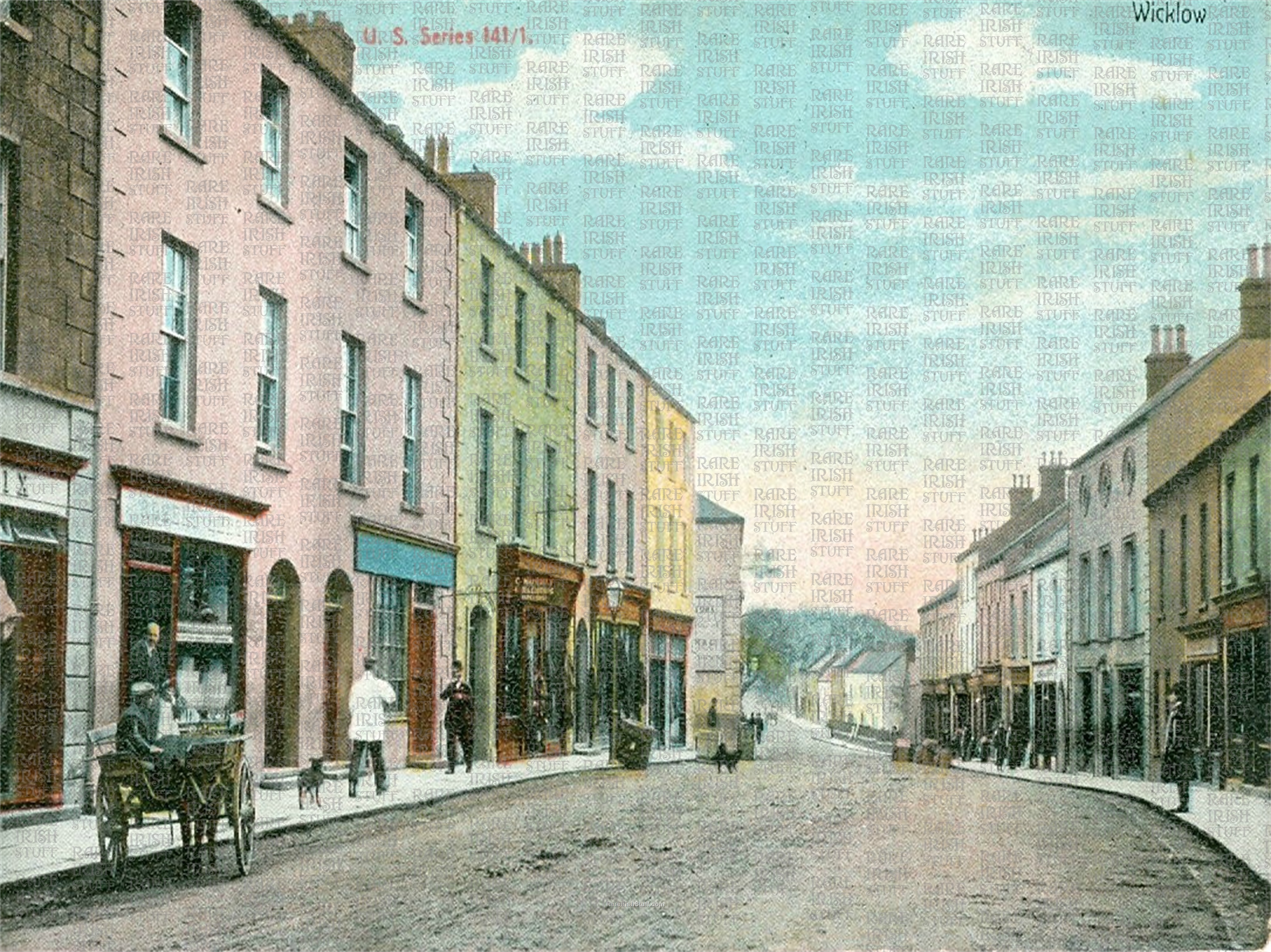 Main  St   Wicklow  Town   Co.  Wicklow 1895  Thumbnail0