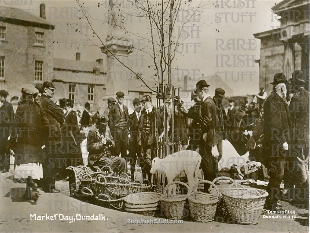 Market  Day   Dundalk   Co.  Louth   Ireland 1895  Thumbnail0