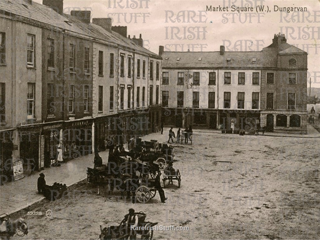 Market  Square   Dungarvan   Waterford   Ireland 1895  Thumbnail0