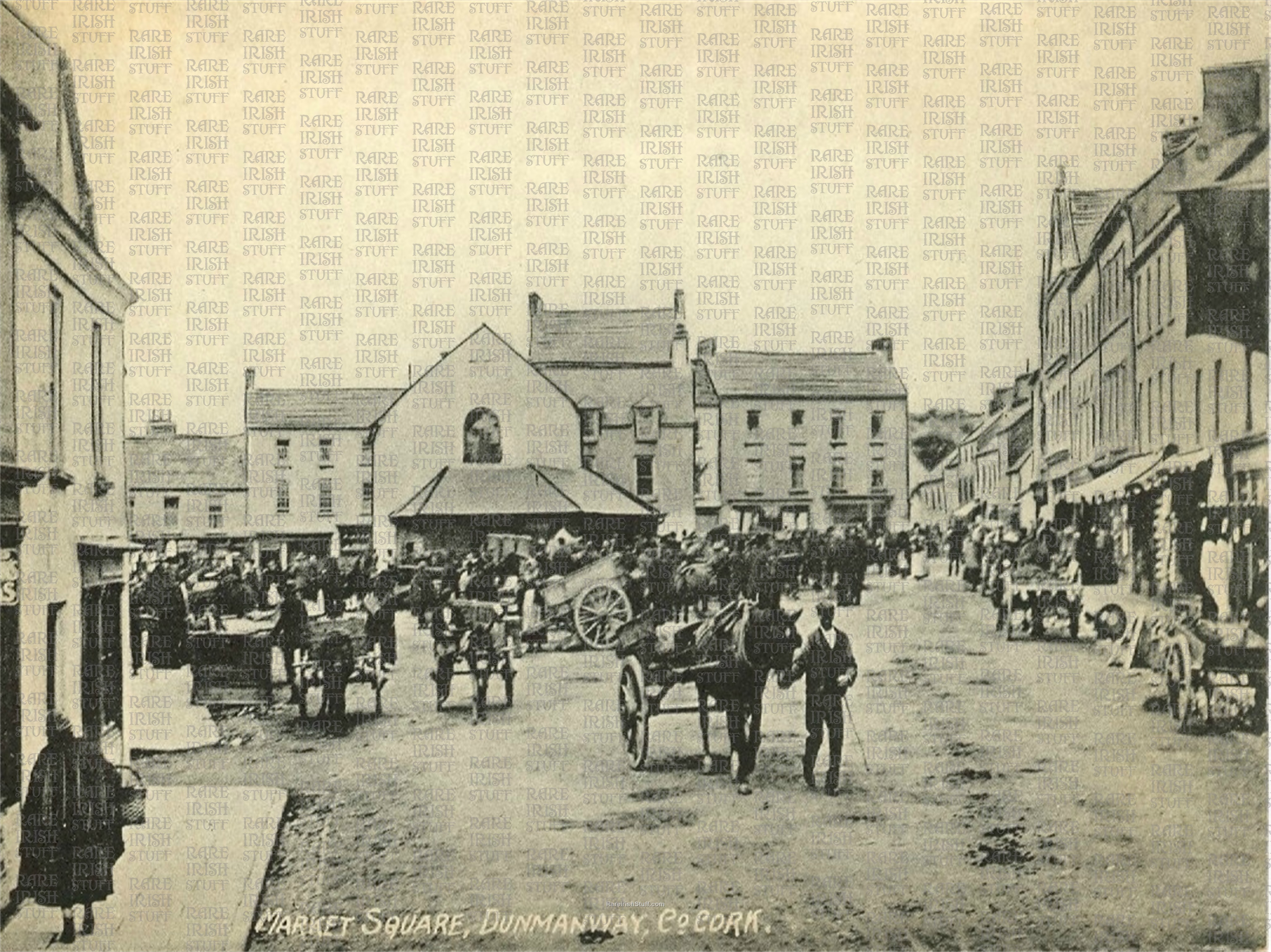 Market  Square   Dunmanway   Co.  Cork   Ireland 1905   Thumbnail0