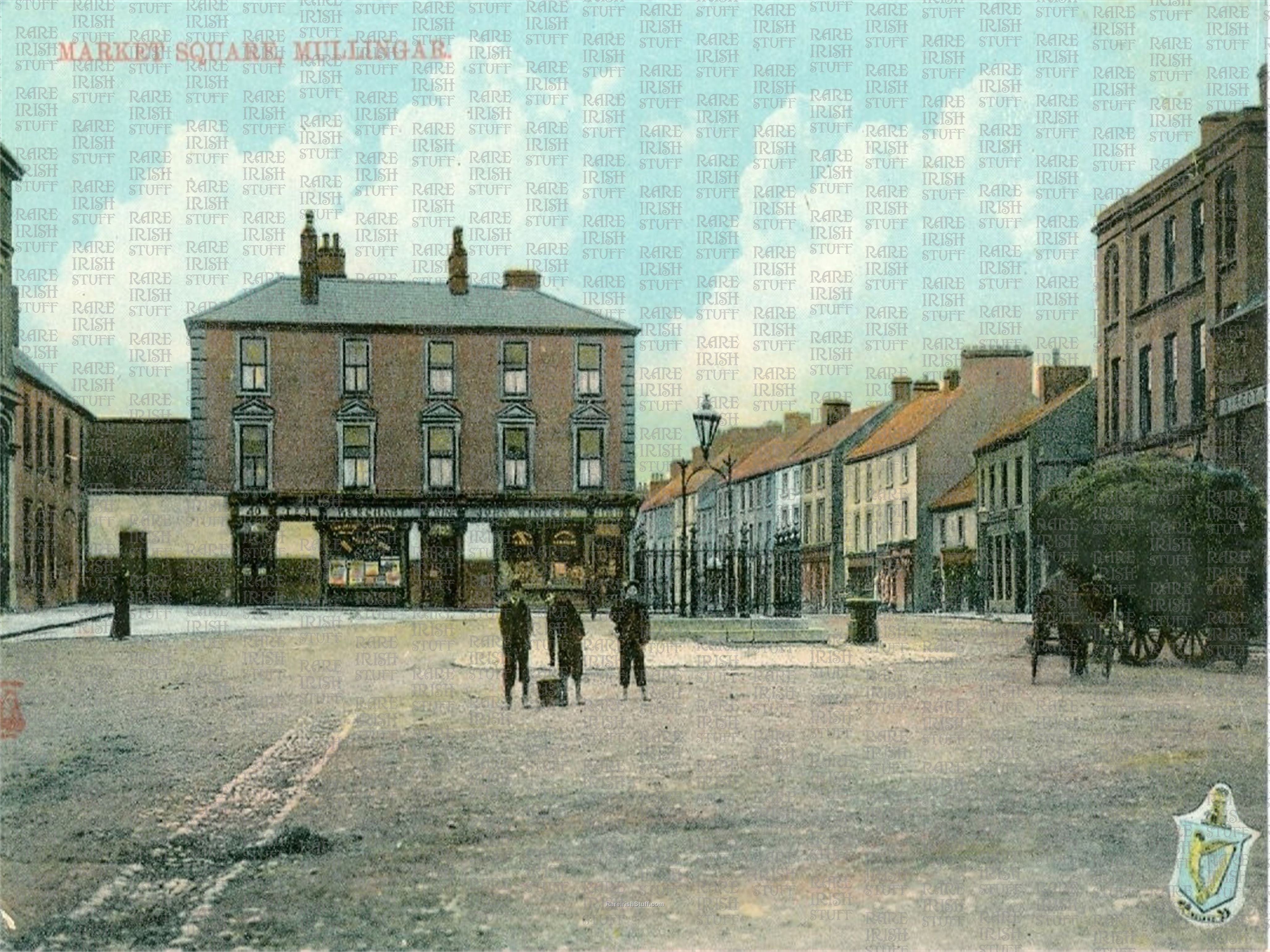 Market  Square   Mullingar   Co.  Westmeath   Ireland 1895  Thumbnail0
