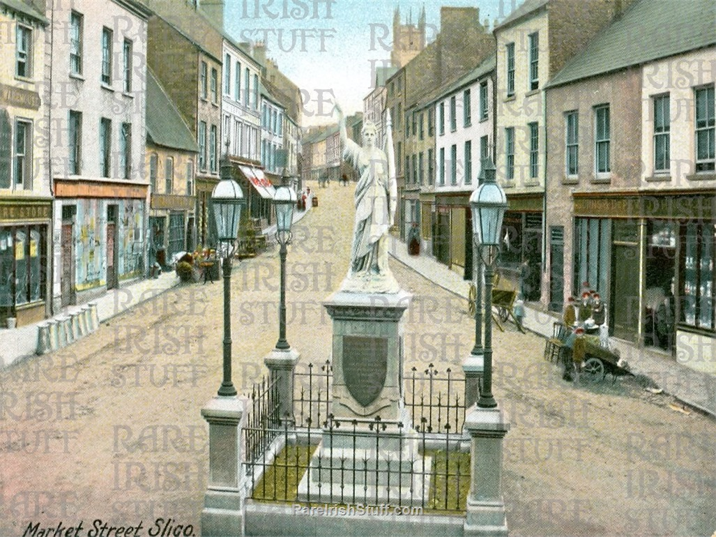 Market  St   Sligo  Town   Co.  Sligo   Ireland 1895  Thumbnail0