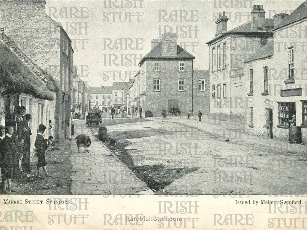Market  St   Swinford    Co  Mayo   Ireland 1900  Thumbnail0
