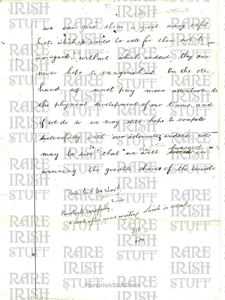 Michael  Collins  Essay page3  Thumbnail0