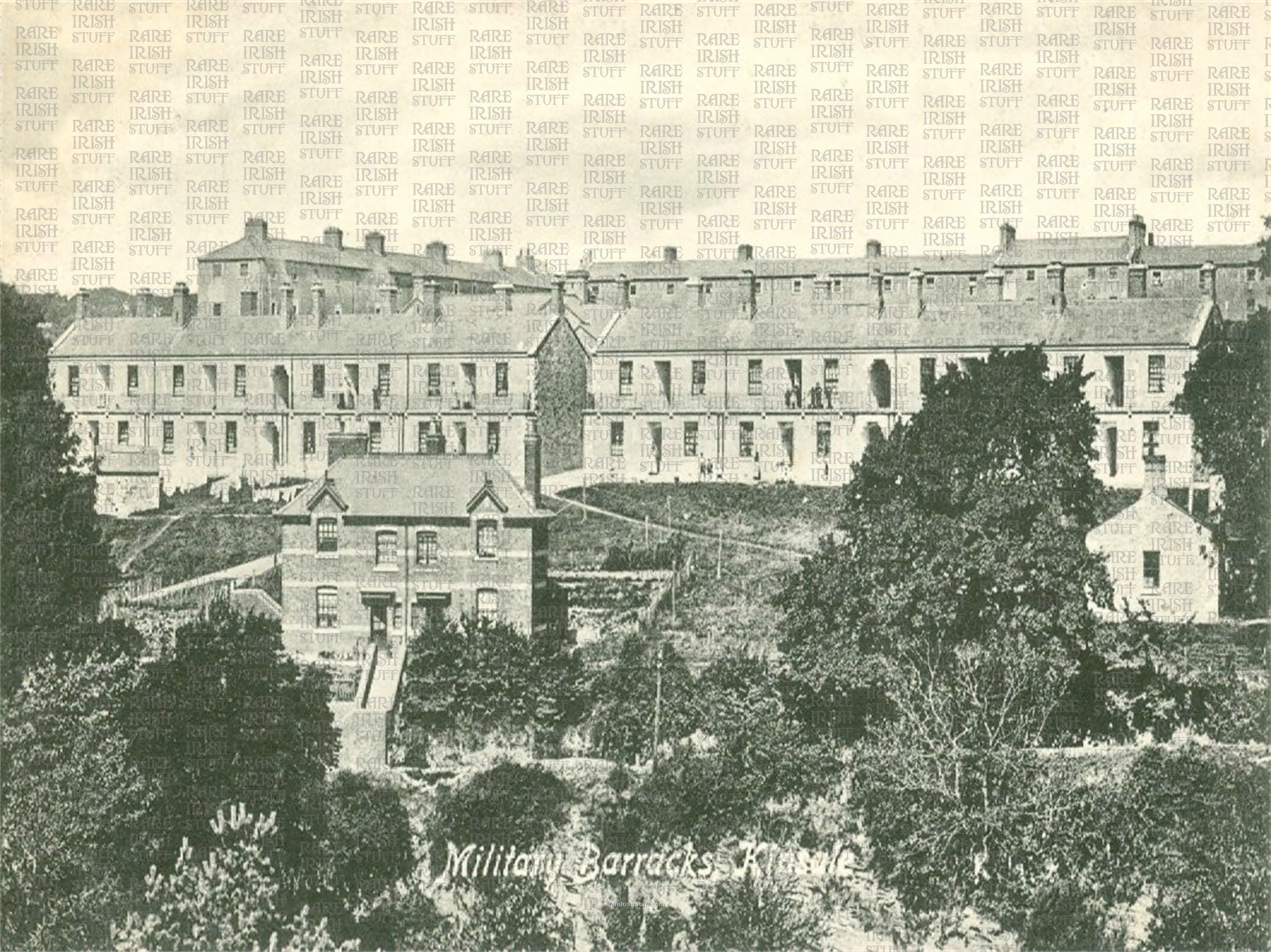 Military  Barracks   Kinsale   Co  Cork   Ireland 1900  Thumbnail0