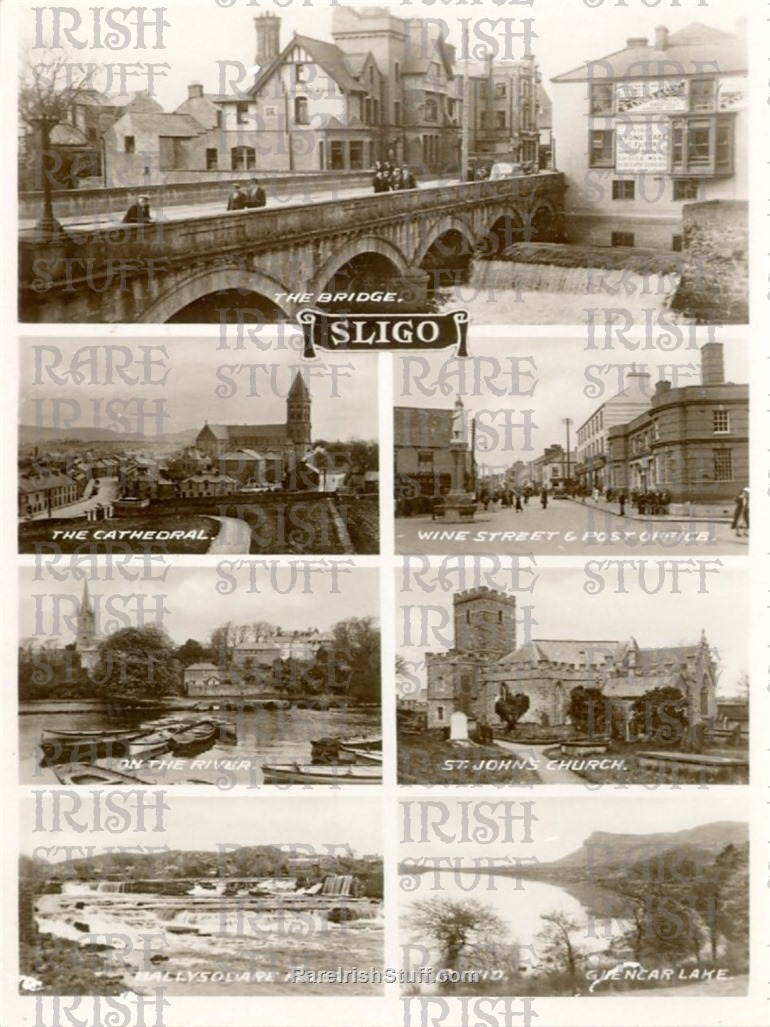 Multiview   Sligo  Town   Co.  Sligo   Ireland 1920  Thumbnail0