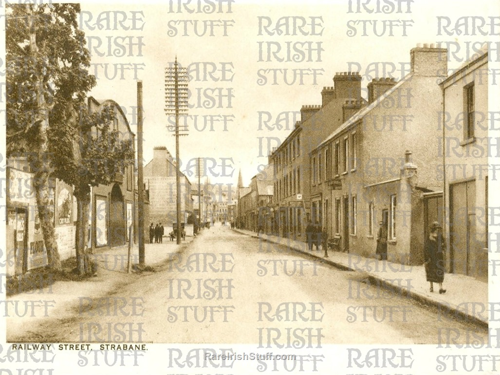 Railway  Street   Strabane   Co.  Tyrone  1905  Thumbnail0