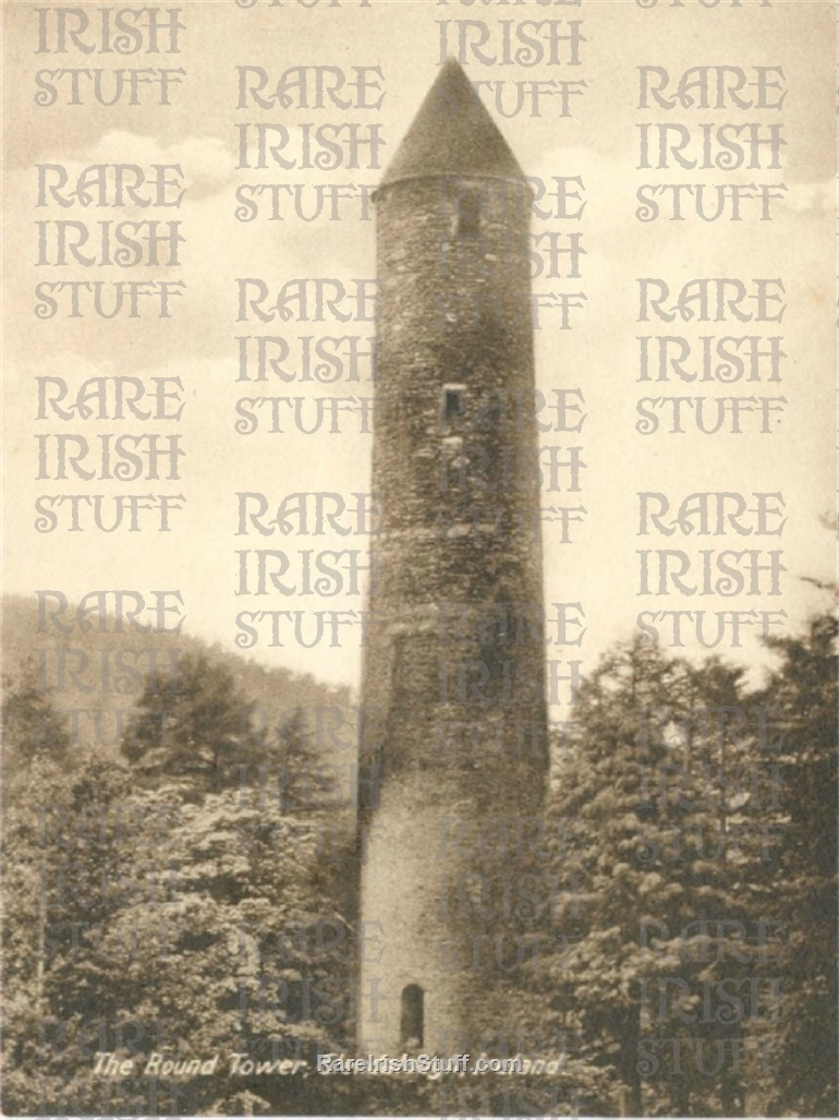 Round  Tower   Glendalough   Co.  Wicklow1905   Thumbnail0