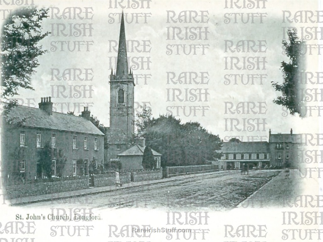 St  John s  Church   Longford  Town   Co  Longford 1905  Thumbnail0