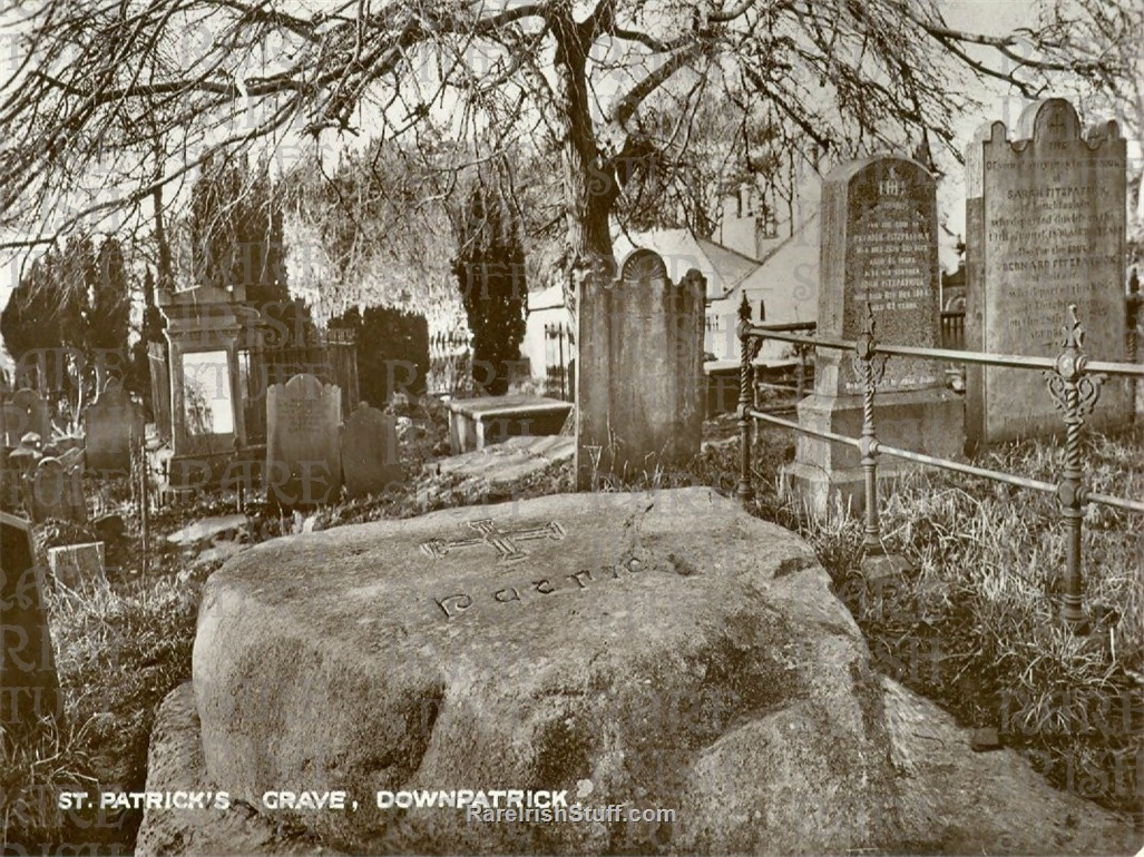 St  Patrick s  Grave   Downpatrick   Co.  Down 1905  Thumbnail0
