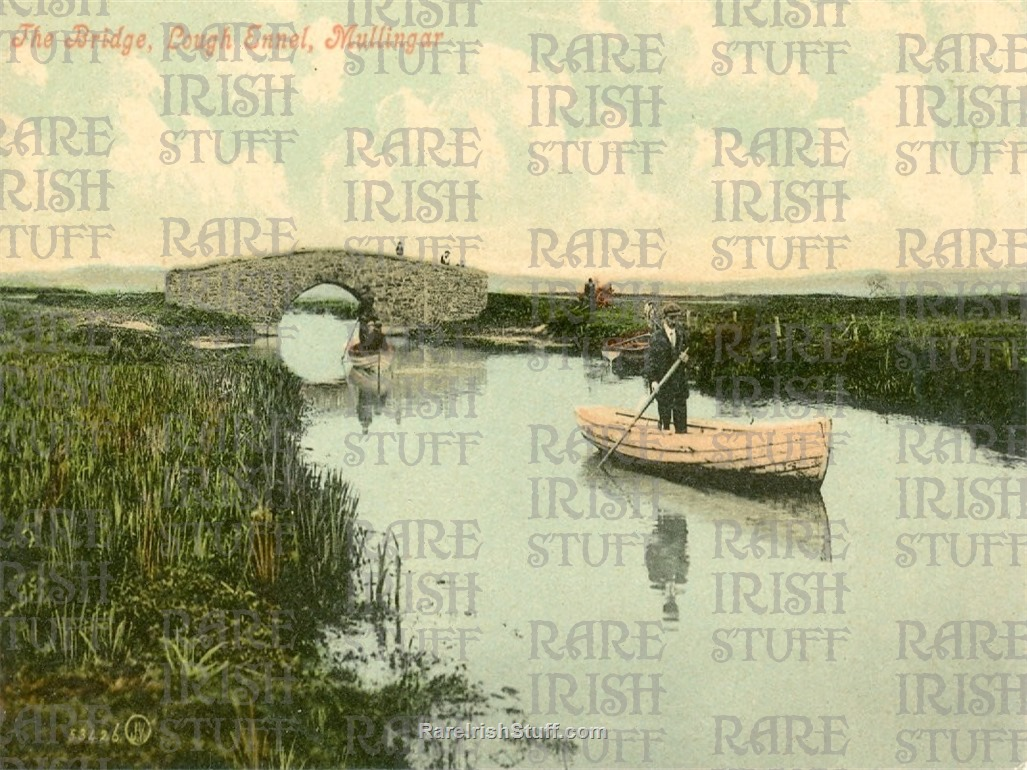 The  Bridge   Lough  Ennel   Mullingar   Co.  Westmeath   Ireland 1895  Thumbnail0