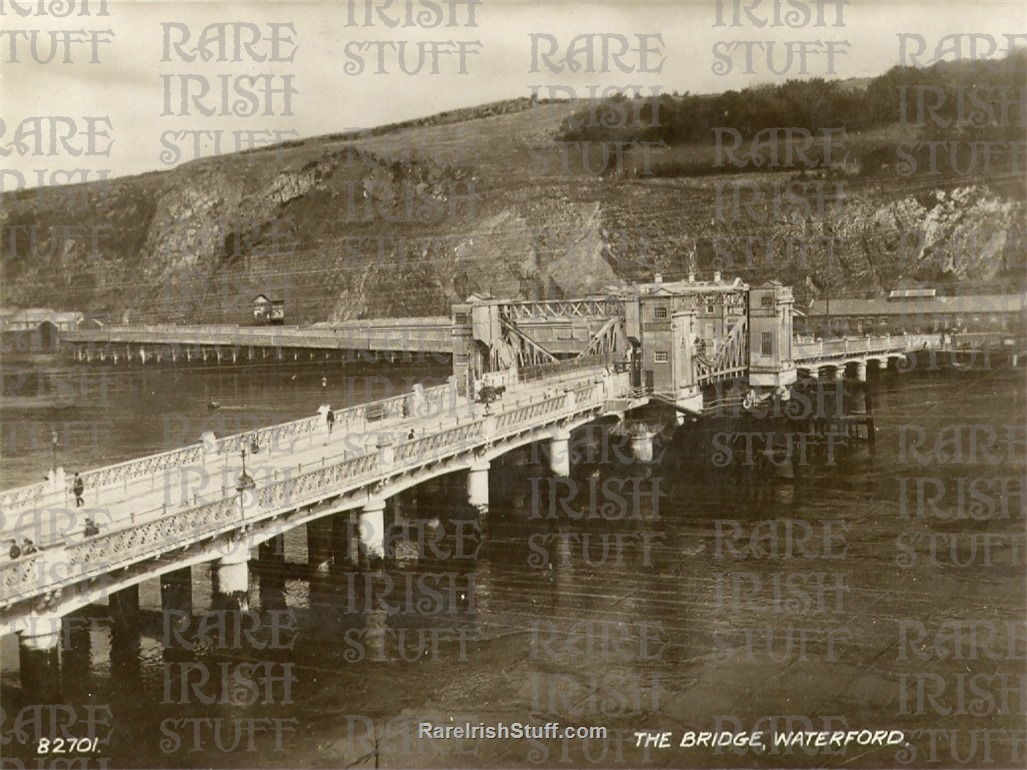 The  Bridge   Waterford  City   Co.  Waterford   Ireland 1905  Thumbnail0