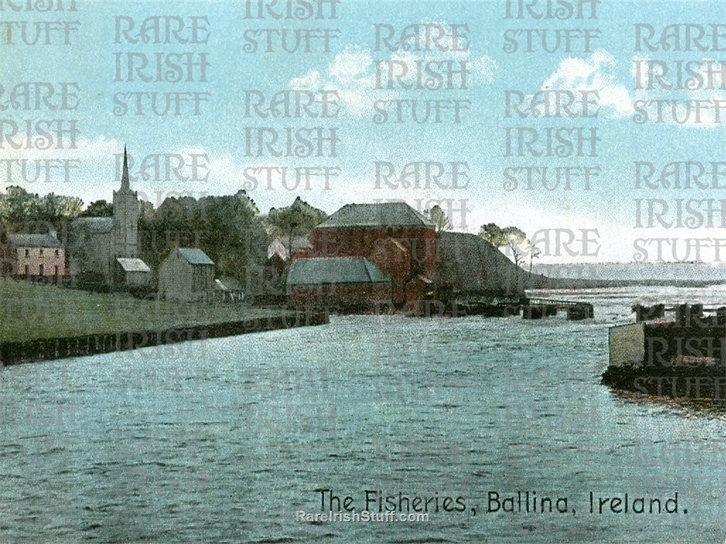 The  Fisheries   Ballina   Co.  Mayo   Ireland 1900  Thumbnail0